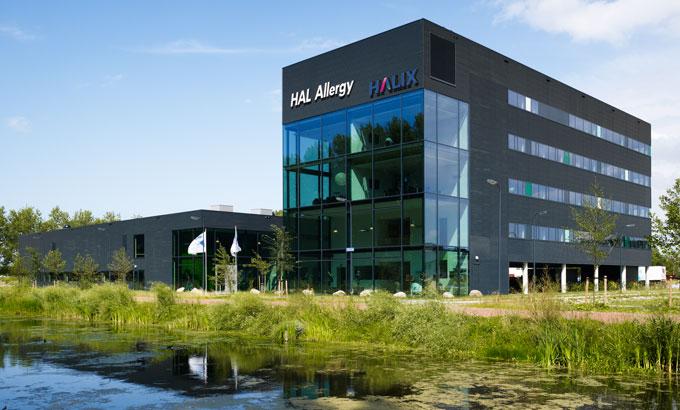 HALIX building in Leiden, the Netherlands