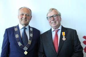 Dr. Harry Flore awared as Knight of the Order of Orange-Nassau