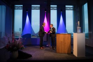 Opening Ceremony HALIX cGMP, Alex Huybens and Mr. Dirks