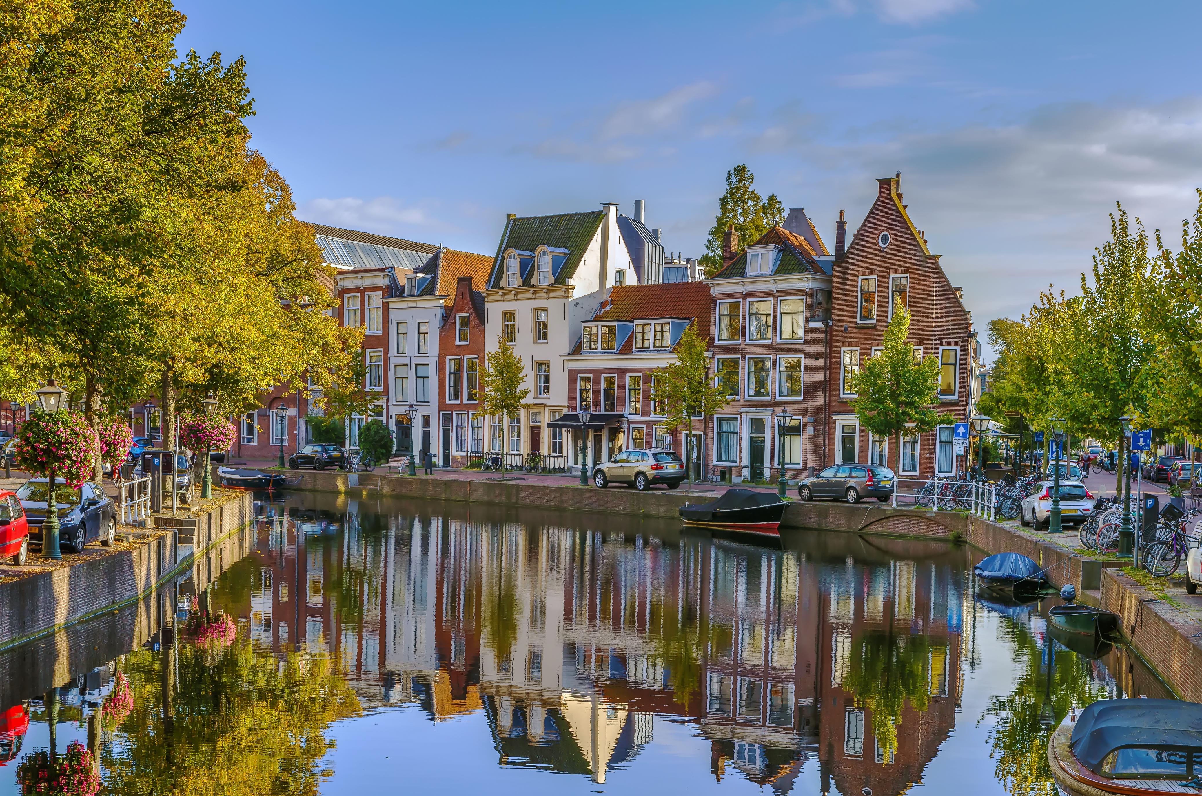 The city of Leiden (NL), close to HALIX BV